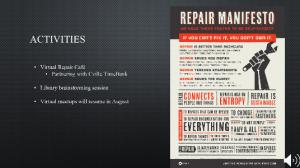 Cville Makes Repair Manifesto