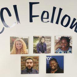 Headshots of the CCI fellows