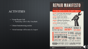 Cville Makes Repair Manifesto